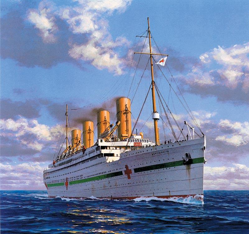 фото британик корабль