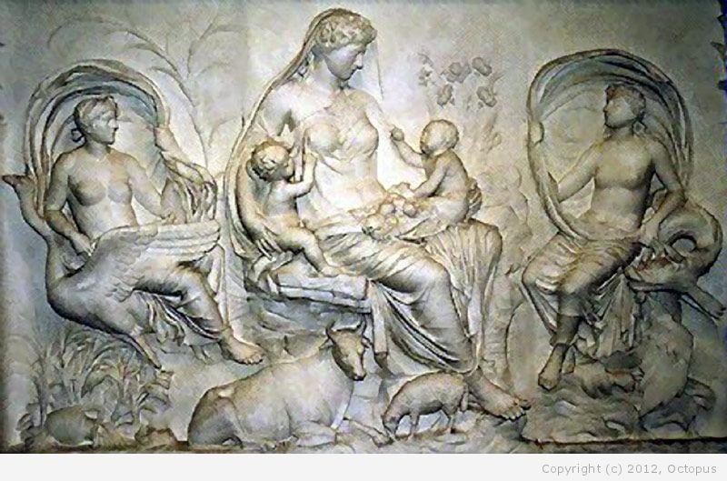 Поскольку Уран оказался покалеченным и беспомощным, Кроносу досталась вся п