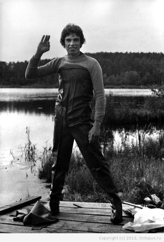 Советский спортсмен в дисциплине подводное плавание 30 фотография