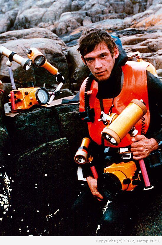 Советский спортсмен в дисциплине подводное плавание 1 фотография
