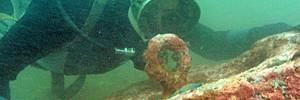 На Русском дайверы нашли стоянки древних кораблей