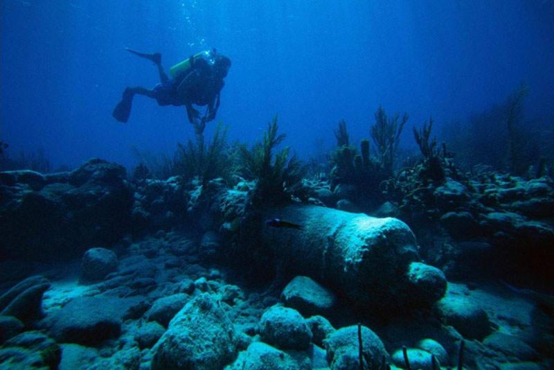 В Крыму у мыса Атлеш появится подводный музей военной техники