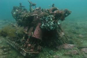 В Японском море дайверы подняли обломки советского Ил-2