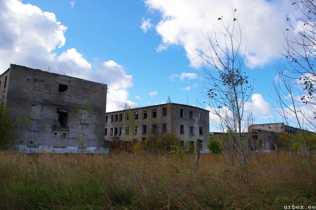 Затопленная тюрьма Мурру в Эстонии