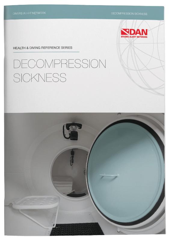 Узнайте больше о декомпрессионной болезни из нового буклета DAN
