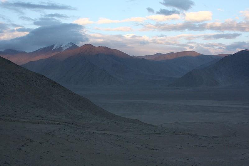 Вид на долину.