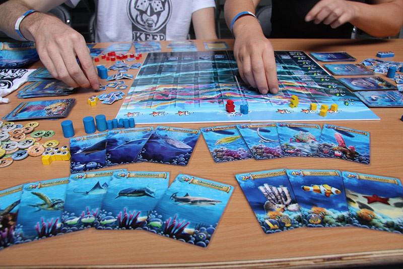 Дайвмастер придумал и выпустил настольную игру «SCUBA»