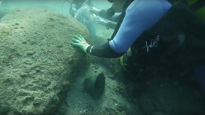 Подводные археологи обнаружили обломки затерянной «Эсмеральды». Фото: Esmeralda Shipwreck 1503