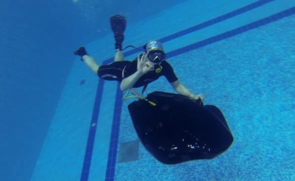 Конструктор из Перми придумал аппарат для дайвинга, заменяющий акваланг
