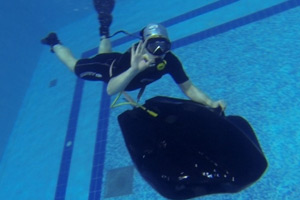 Аппарат для дайвинга, заменяющий акваланг