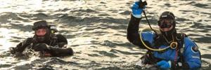 Рекордное погружение в Черном море