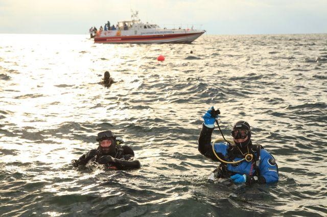 Рекордное погружение в Черном море. Фото из личного архива Николая Рыбаченко