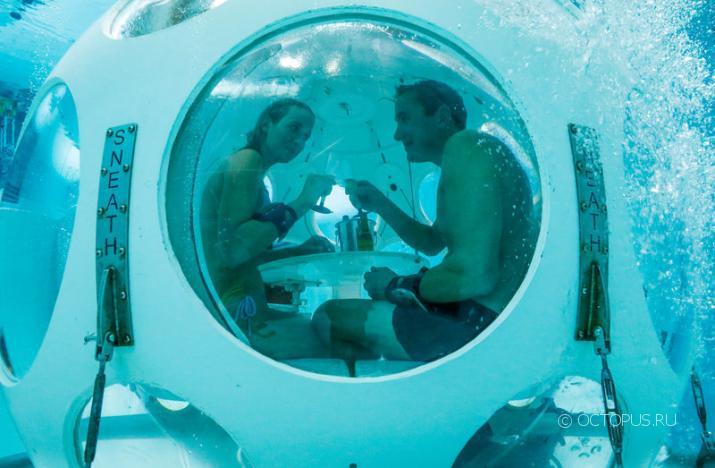 На ужин в акваланге